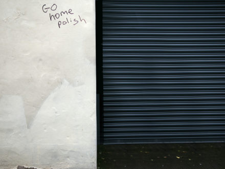 Find out more: 'Go Home, Polish' Graffiti inspires Photographer's 1,200-Mile Journey to Discover the Meaning of 'Home'