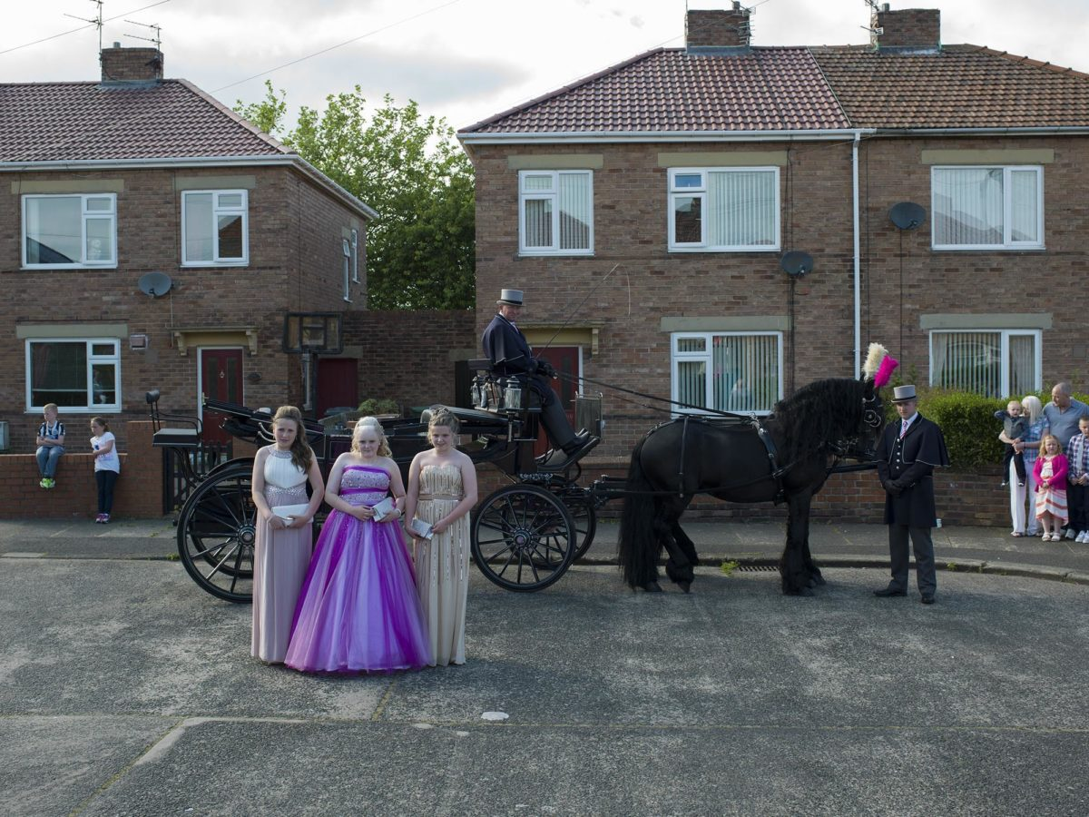 Middle School Prom, Ashington, by Julian Germain, 2014. © Ashington District Star / Julian Germain.